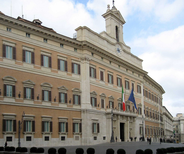 palazzo montecitorio camera deputati roma